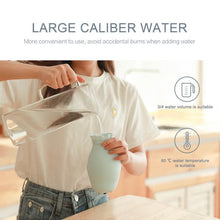 Load image into Gallery viewer, Silicone Seal Hot Water Hand Warmer