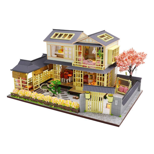 Modern Japanese Home Dollhouse Kit