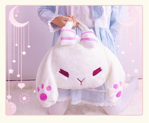 White Rabbit Plush Backpack