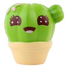 Load image into Gallery viewer, Jumbo Cute Cactus Squishy