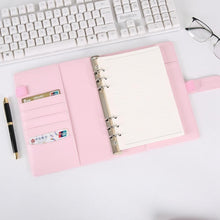 Load image into Gallery viewer, Pastel PU Leather Journal Binder
