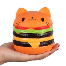 Load image into Gallery viewer, Jumbo Cat Burger Squishy