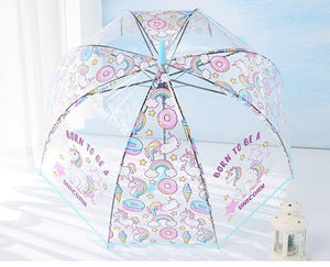 Transparent Unicorn Umbrella