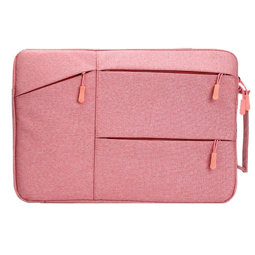 Pink Oxford Style Laptop Notebook Sleeve
