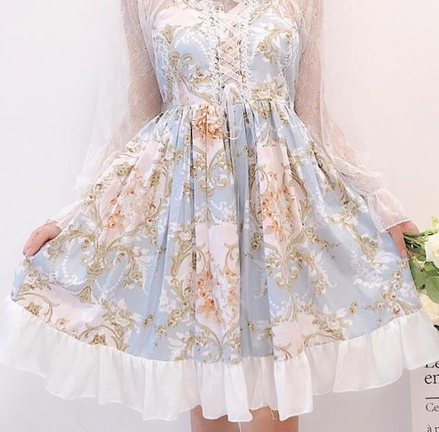 Princess Sweet Lolita Lace Dress