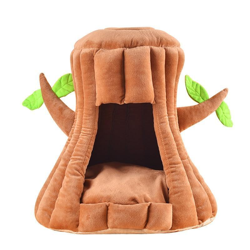Hollow Tree Pet Bed