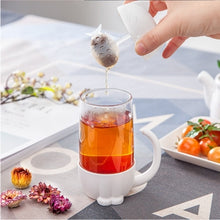 Load image into Gallery viewer, Cat Cup Tea Infuser