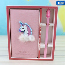 Load image into Gallery viewer, Unicorn Stationery Set