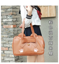Load image into Gallery viewer, Bowknot Bear Handbag
