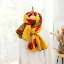 Load image into Gallery viewer, Autumn Strawberry Scarf