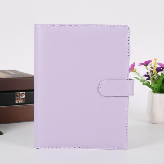 Pastel PU Leather Journal Binder