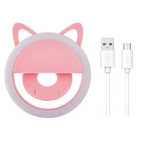 Cat Selfie Ring Light