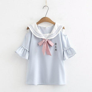 Open Shoulder Sailor Shirt