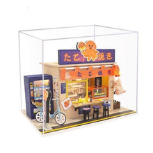 Load image into Gallery viewer, Japanese Takoyaki Shop Dollhouse Kit