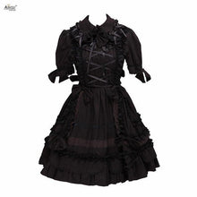 Load image into Gallery viewer, Collared Gothic Lolita Dress