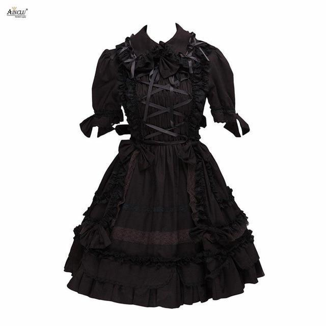 Collared Gothic Lolita Dress