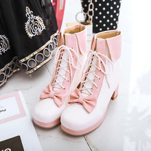 Load image into Gallery viewer, Sweet Lolita Vintage High-Heeled Shoes
