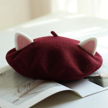 Load image into Gallery viewer, Kawaii Cat Ears Beret