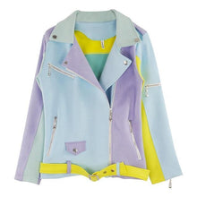 Load image into Gallery viewer, Pastel Suede Jacket