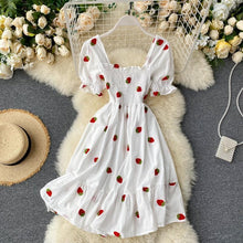 Load image into Gallery viewer, Summer Fruit Beach Dress