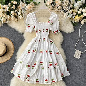 Summer Fruit Beach Dress