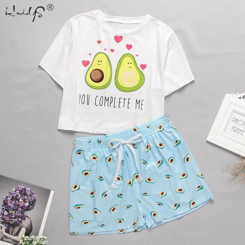 Avocado Love Pajamas
