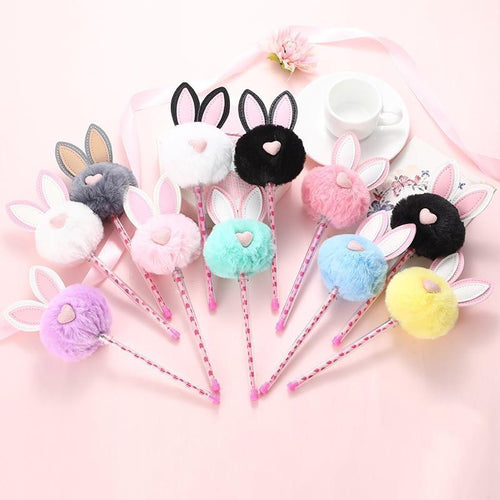Plush Bunny Gel Pens