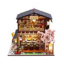 Load image into Gallery viewer, Two Story Japanese Sushi Restaurant Dollhouse