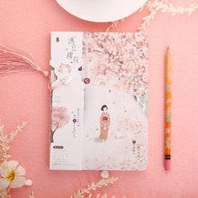 Load image into Gallery viewer, Cherry Blossoms Notebook