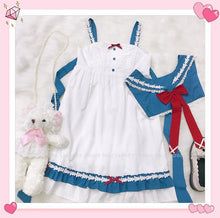 Load image into Gallery viewer, Sweet Lolita Sailor Dress