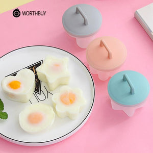 4 Pcs/Set Egg Poacher Set