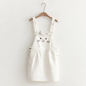 Neko Denim Overall Skirt