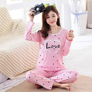Love Heart Pajamas