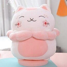 Load image into Gallery viewer, Pink Sakura Cat Plushie