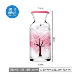 Sakura High Temperature Resistant Cooling Bottle