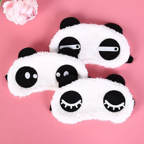 Panda Face Sleep Mask