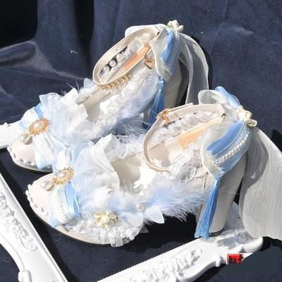 Vintage Princess Lolita Dress Shoes