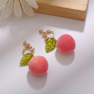 Peach Earrings