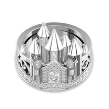 Load image into Gallery viewer, Castle Zirconia Ring