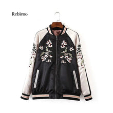 Load image into Gallery viewer, Reversible Embroidered Jacket