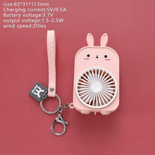 Load image into Gallery viewer, Usagi Bunny Pocket Fan