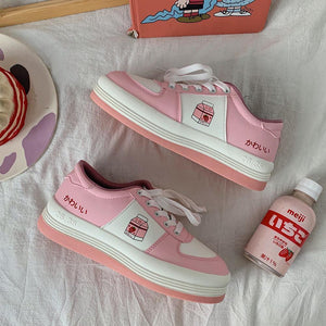 Strawberry Milk Shoes