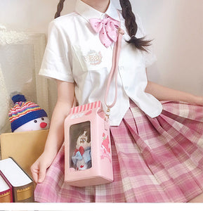 Strawberry Milk Shoulder Bag
