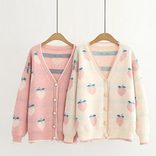 Load image into Gallery viewer, Autumn Peach Cardigan