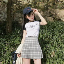 Load image into Gallery viewer, Plaid Harajuku Skirt