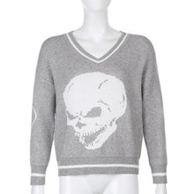 Load image into Gallery viewer, Skull Sweater
