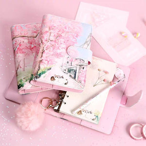 Sakura Journal Agenda Gift Set