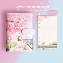 Load image into Gallery viewer, Sakura Journal Agenda Gift Set