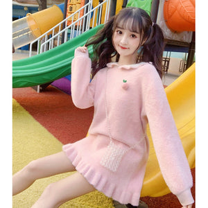 Bunny Ears Sweater Dress