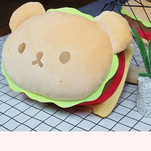Burger Bear Plushie